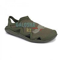 Мужские сандалии хаки Crocs Men's Swiftwater Mesh Wave Sandal