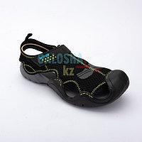 Мужские сандалии черного цвета CROCS Men s Swiftwater Mesh Deck Sandal