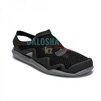 Мужские сандалии черные Crocs Men's Swiftwater Mesh Wave Sandal
