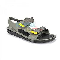 Мужские серые сандалии CROCS Men's Swiftwater Expedition Sandal 41 (М8)