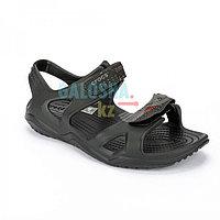 Мужские черные сандалии Crocs Men's Swiftwater River Sandal
