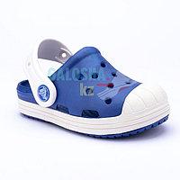 Детские синие сабо Crocs Kids' Bump It Clog