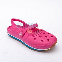 Женские сандалии ярко-розового цвета CROS Women's Retro Mary Jane