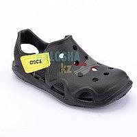 Черные сандалии Crocs Kids Swift water Wave Sandal 31-32 (J2)