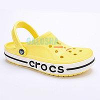 Желтые сабо CROCS Bayaband Clog