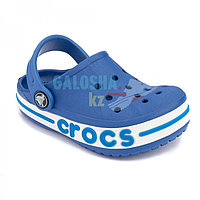 Детские голубые сабо CROCS Kids' Bayaband Clogs