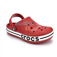 Детские красные сабо CROCS Kids' Bayaband Clogs