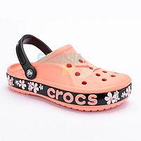 Оранжевые сабо Crocs Bayaband Graphic II Clog 37-38 (M6/W8)