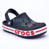 Детские темно-синие сабо CROCS Kids' Bayaband Clogs 25 (С8)