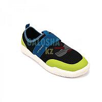 Кроссовки детские зеленые с черным Kids Swiftwater Easy-On Heathered Shoe