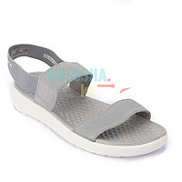Серые босоножки Crocs Women's LiteRide Stretch Sandal