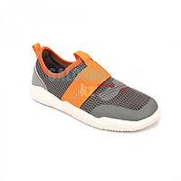 Кроссовки детские серые с оранжевым Kids Swiftwater Easy-On Heathered Shoe 24