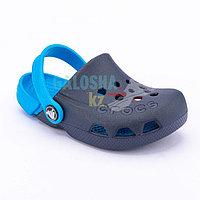 Детские темно-синие сабо CROCS Kids Electro Clog