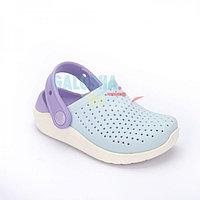 Детские светло-голубые сабо CROCS Kids LiteRide Clog 27 (С10)