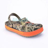 Оранжевые Сабо CROCS Crocband II Camo Speck Clog