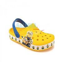 Детские желтые сабо CROCS Kids Fun Lab Minions Multi Clog