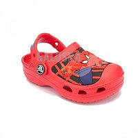 Детские красные сабо Kids' Creative Crocs Spider-Man Lights Clog 23-24 (C6/C7)
