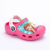 Детские розовые сабо Kids' Creative Crocs Frozen Clogs Clog 27-28 (C10/C11)