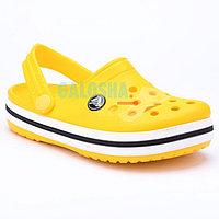 Детские желтые сабо CROCS Crocband clog