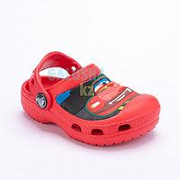 Детские сабо красного цвета Kids' Creative Crocs Lightning McQueen Clogs
