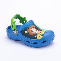 Детские синие сабо Kids' Creative Crocs Woody Buzz Lightyear Rex Clog 33-34