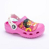Розовые сабо Kids' Creative Crocs Dora Lollipops & Flowers Clog