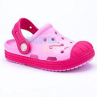 Детские розовые сабо Crocs Kids' Bump It Clog