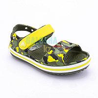 Детские сандалии камуфляж CROCS Crocband Sandal Kids 33-34 (J2)