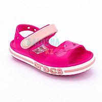 Детские розовые сандалии CROCS Kids' Bayaband Sandal 24 (C7)