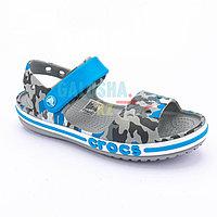 Детские сандалии с графическим дизайном CROCS Kids' Bayaband Sandal 26 (C9)