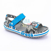 Детские сандалии с графическим дизайном CROCS Kids' Bayaband Sandal 31-32 (J1)