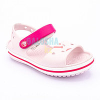 Детские светло-розовые сандалии CROCS Crocband Sandal Kids 27 (C10)