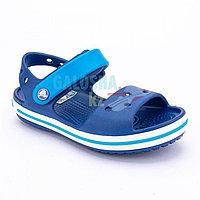 Детские синие сандалии CROCS Crocband Sandal Kids 25 (C8)