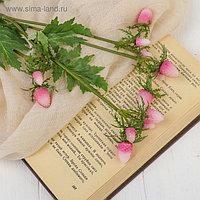 """Декор """"Ветка с ягодами"""" 50 см, розовый"""