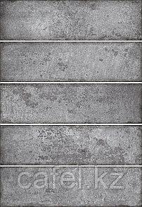 Кафель | Плитка настенная 28х40 Сабвей | Subway 2 темно-серый