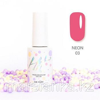 Гель-лак HIT gel Neon №03