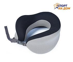 Ортопедическая подушка подголовник Афродита (цвет - серый)