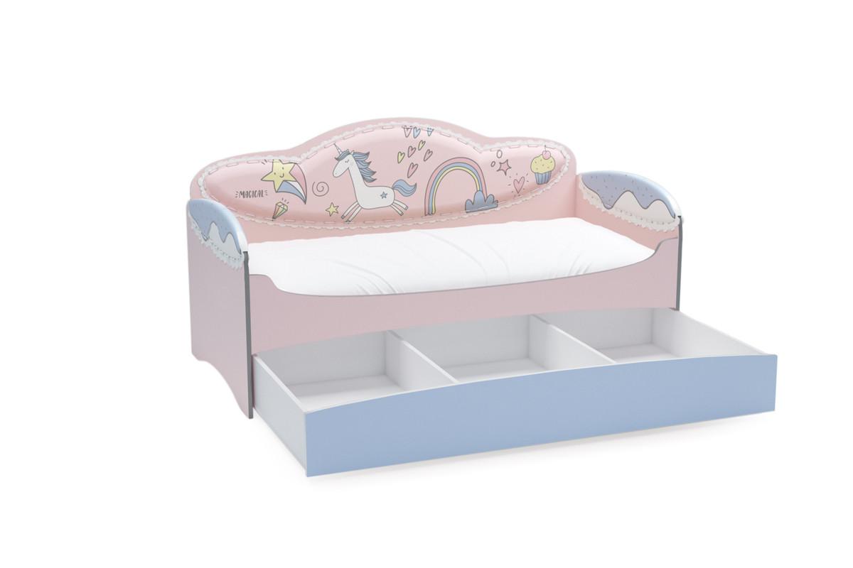 Диван-кровать для девочек Mia Unicorn - фото 2