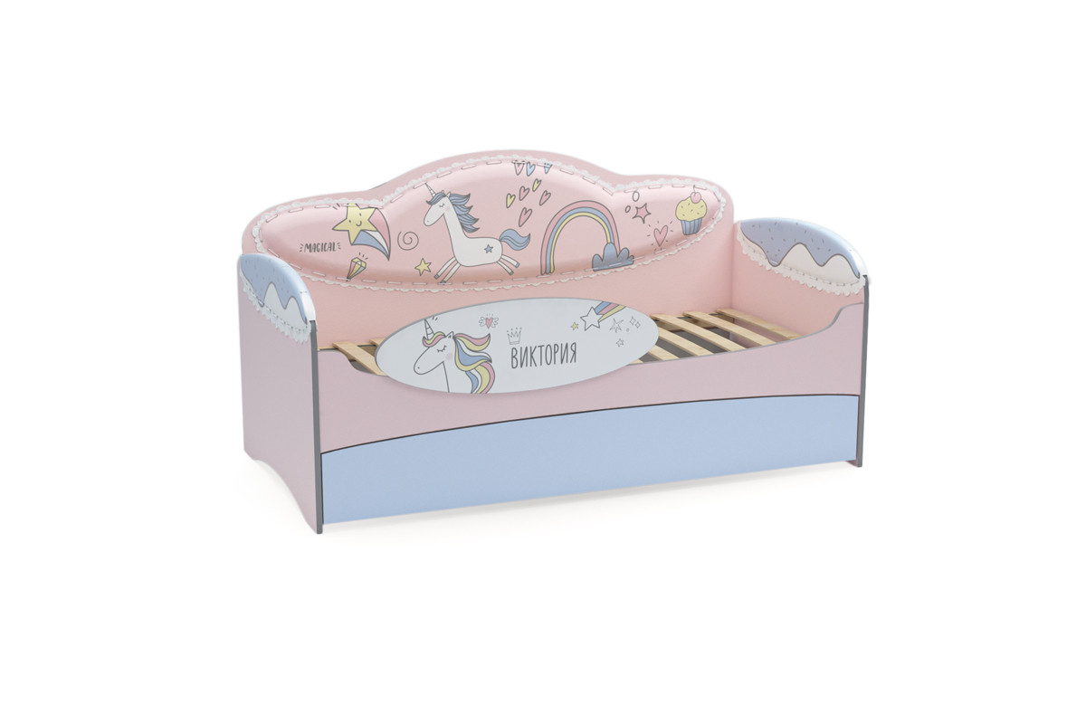 Диван-кровать для девочек Mia Unicorn - фото 3