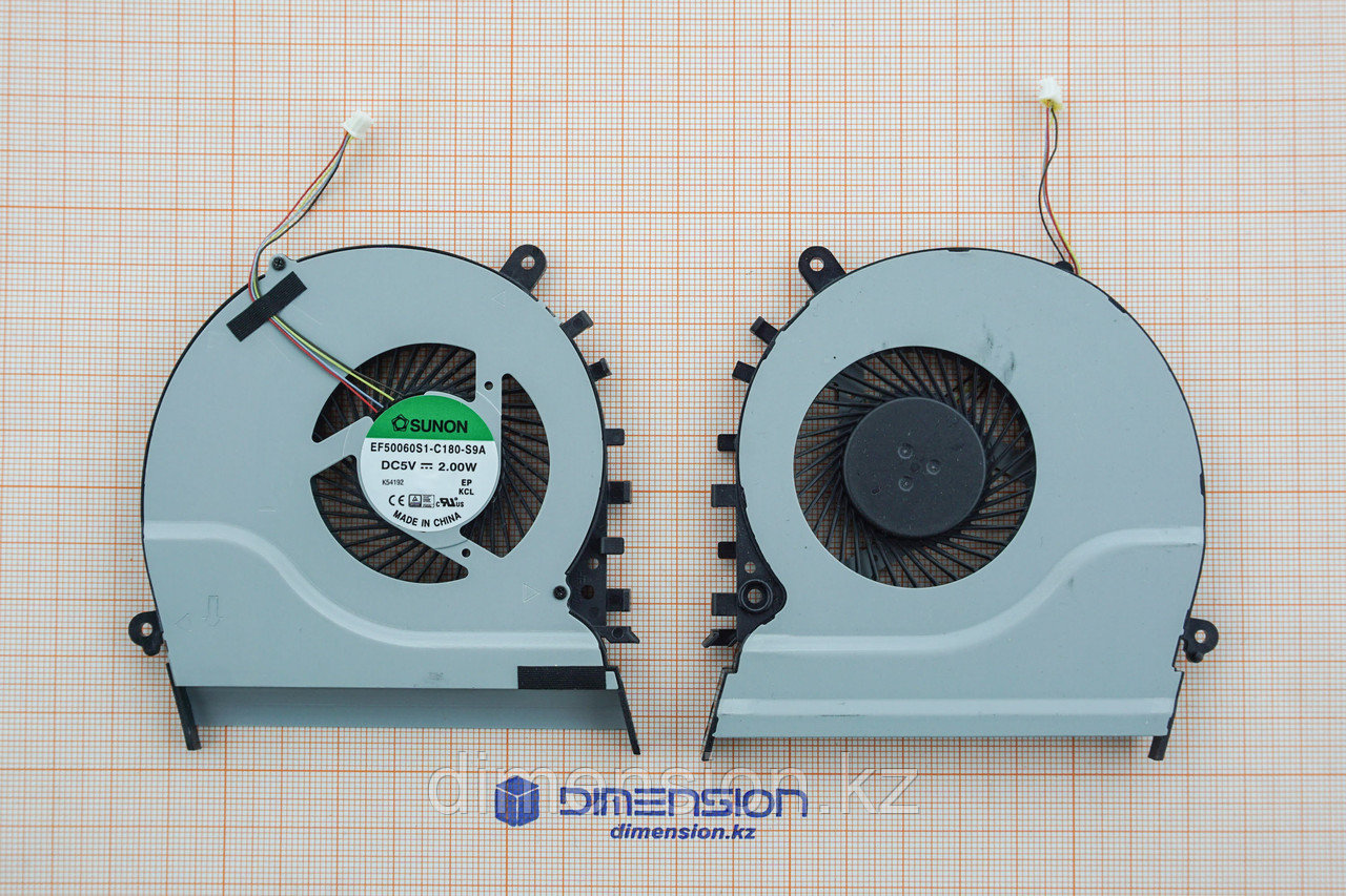 Кулер, вентилятор для ASUS S551 S551LB V551 V551L R553L R553LN K551 K551L