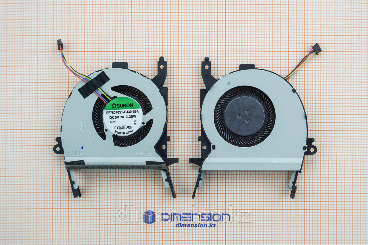 Кулер, вентилятор для ASUS X556 X556U X556UQ A556U X556UB R457U A456U