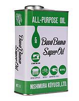 Универсальное масло для швейного оборудования Budo Brand Super Oil (Япония), 1 л
