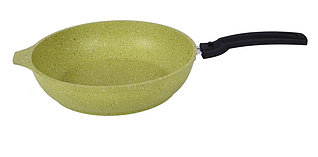 "Сковорода ""Trendy style"" 260мм, со съемной ручкой, (lime)"