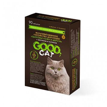 """Good Cat витаминное лакомство для кошек """"Здоровье кожи и шерсти"""""""