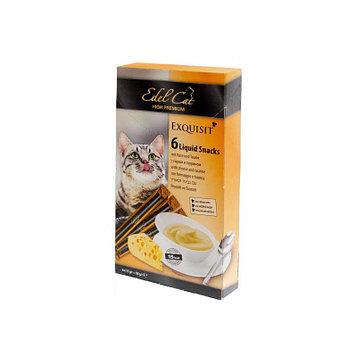 Лакомство для кошек крем-суп Edel Cat с сыром и таурином