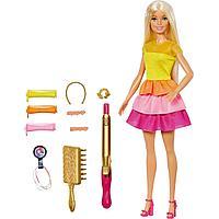 Кукла Barbie в модном наряде с аксессуарами для волос