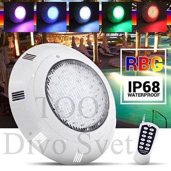 Светодиодный светильник 35W RGB (цветной) IP68, 12V. Для подсветки бассейна, фонтана и тд.
