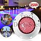 Светодиодный светильник 35W RGB (цветной) IP68, 12V. Для подсветки бассейна, фонтана и тд., фото 2