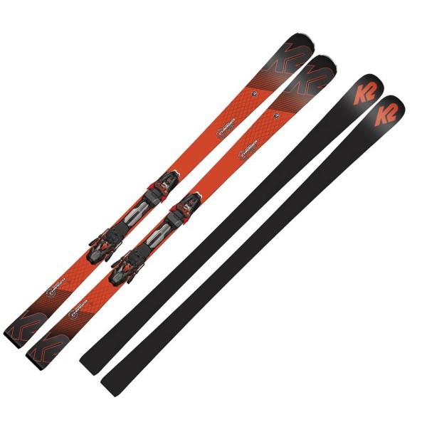 Горные лыжи K2 Speed Charger Mxcell 14 TCx