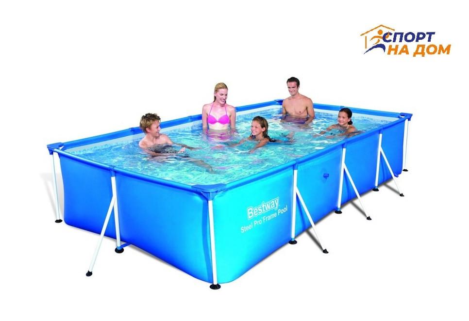 Каркасный бассейн BestWay 56424 (габариты: 400*211*81 см, на  5700 л)
